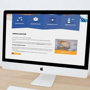 animal doctor web site homepage