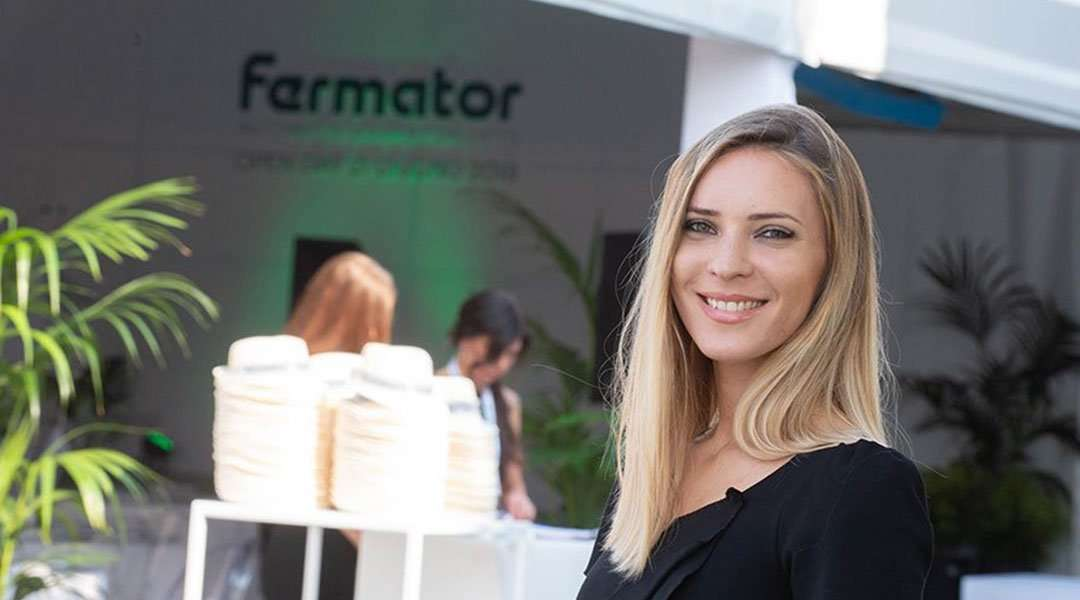 fermator open day hostess all'ingresso