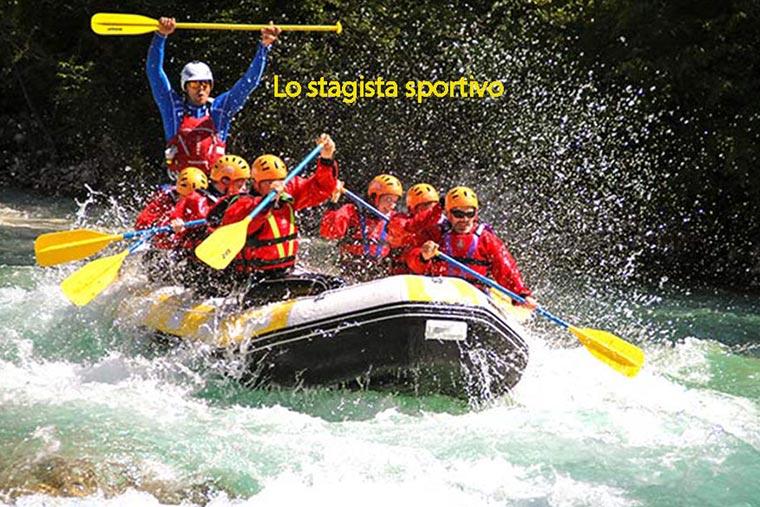 team building partecipanti al rafting