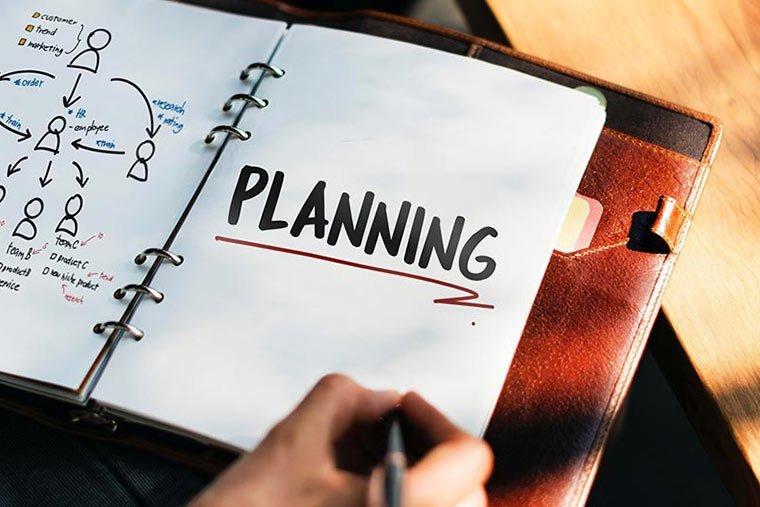 pianificazione e-mail per il funnel marketing