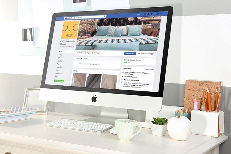 gestione social media facebook di C&C Milano