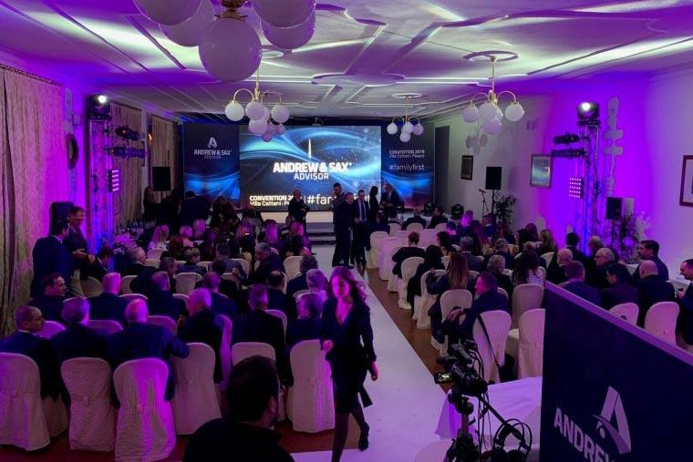 evento aziendale Andrew&sax