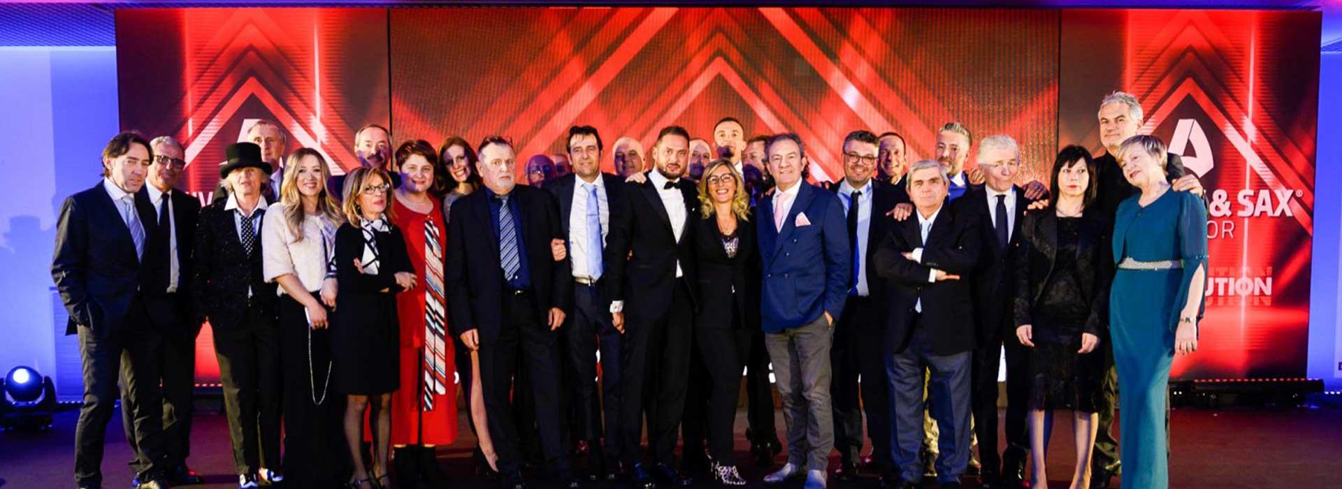 andrew & sax convention foto di gruppo
