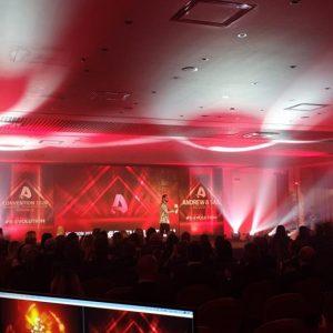 Andrew & Sax convention pubblico sala
