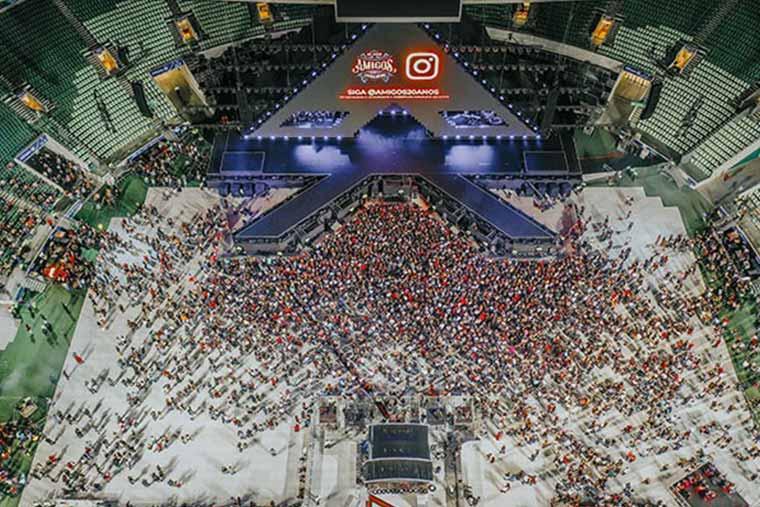 richiesta suolo pubblico concerto allo stadio