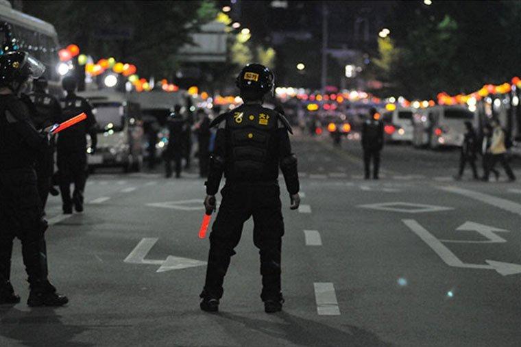 richiesta suolo pubblico forze dell'ordine per la sicurezza