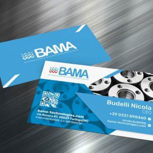 bama technologies biglietti visita