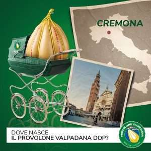 Provolone Valpadana DOP nasce a Cremona