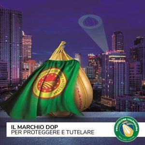 Provolone Valpadana DOP marchio di protezione e tutela
