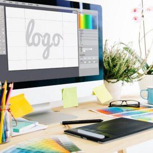 bozza di un logo aziendale