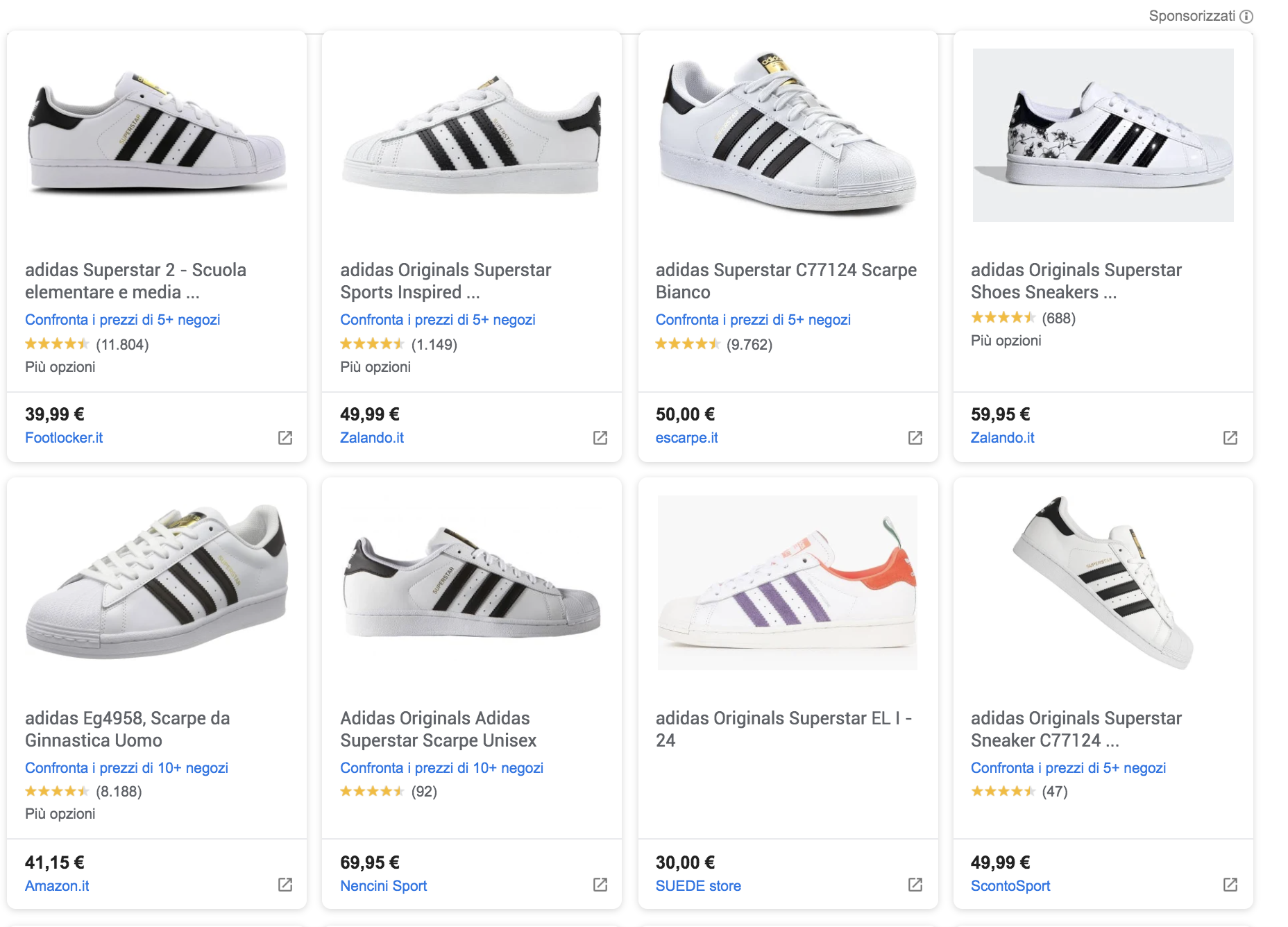 shop online scarpe