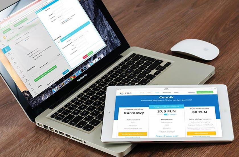 sito responsive pc portatile e tablet